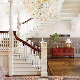 Atrium Townhouse Stairway