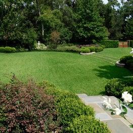 Oval Lawn, Knollwood Residence & Gardens, Houston, Texas