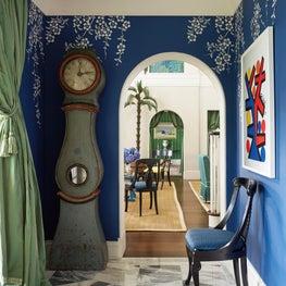 Florida Resort House:  Entryway
