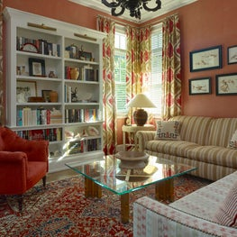 Comfortable Country Library with Urban Touches
