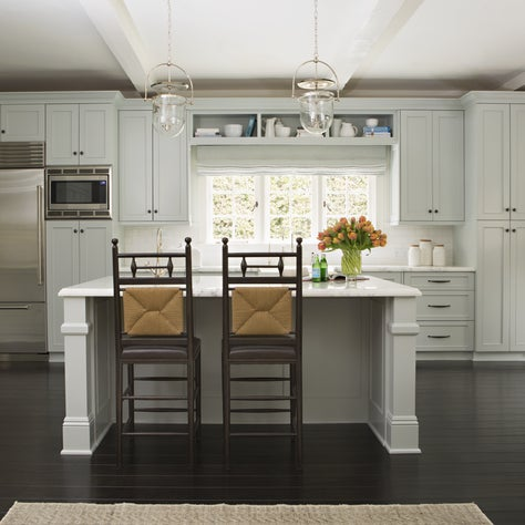 The heart of the home lies here in this classic kitchen.