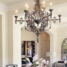 Carmel Residence, Chandelier