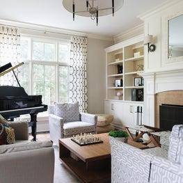 Living Room Winnetka Residence