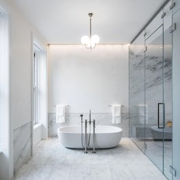 Upper East Side Townhouse, Master Bath