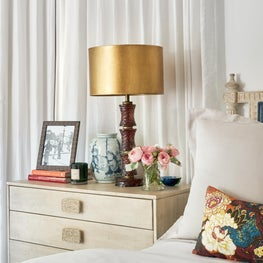 Master Bedroom Styled Bedside Table