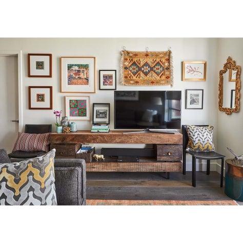 SOMA Living Room Gallery Wall