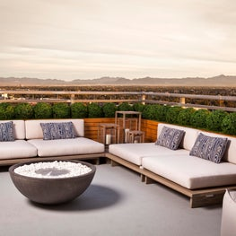 Juhl Penthouse-Terrace