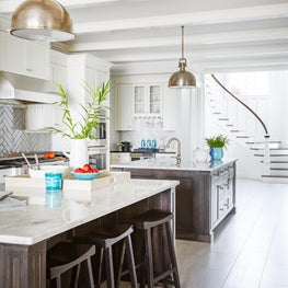Family Residence, Jacksonville, Fl. Kitchen with Double Islands.