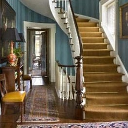 Stair hall.