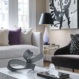 Modern, sleek and comfortable with custom artwork features.