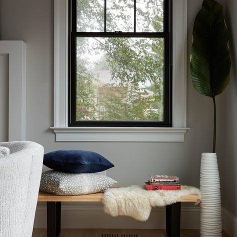 Design detail window bench