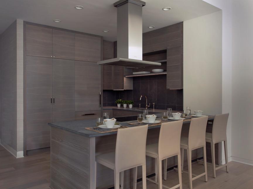 Contemporary Limed Oak Kitchen