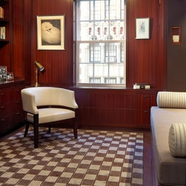 Madison Avenue Residence Library and Dressing Room