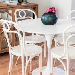 Eclectic Colorful Dining Room