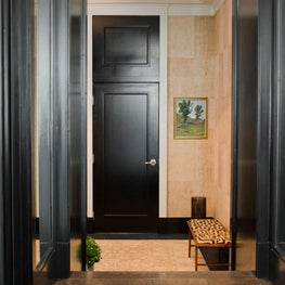 Two Modern Living Flats: Entry Foyer