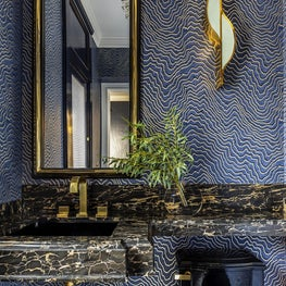 Pasadena Showcase 2019 Deco Powder Room