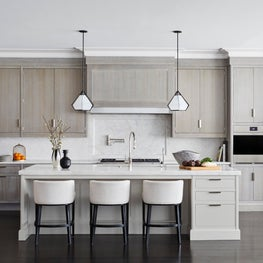 Not your Everyday Traditional White Kitchen