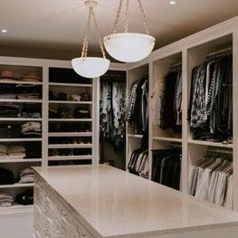Jerome Jay Walk-In Closet