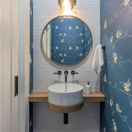 Cottage Powder Room