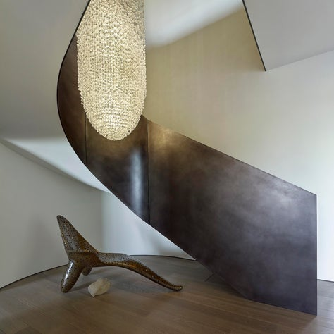 Stair Case - Bel Air Estate