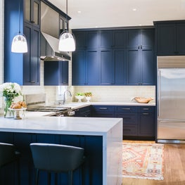 Kitchen in Presidio Heights, SF gets a makeover!