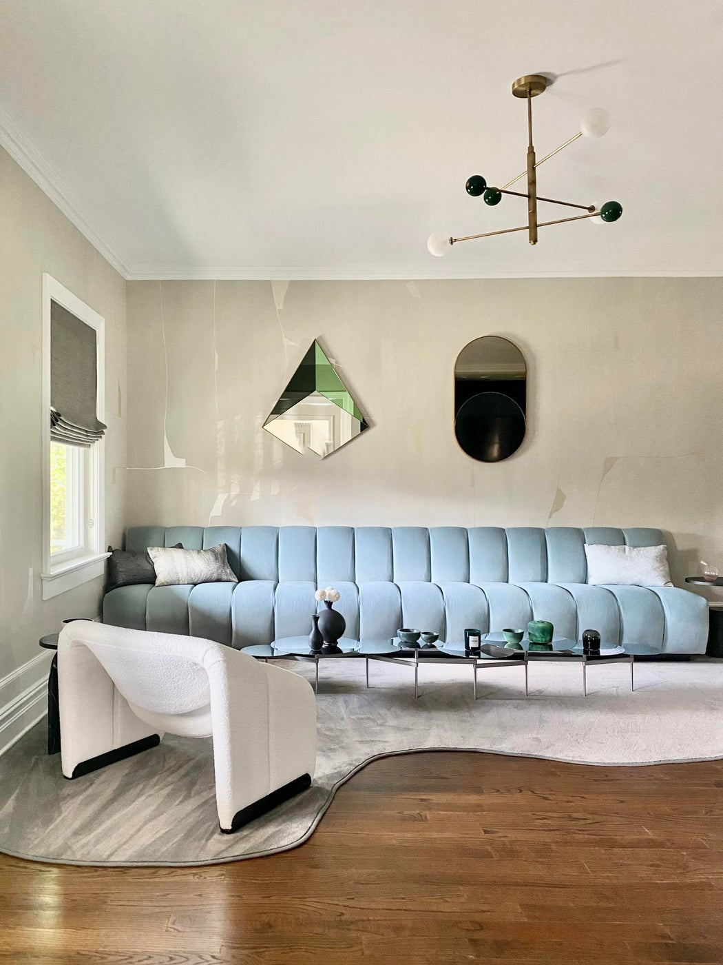 Short Hills Living Room with Bar