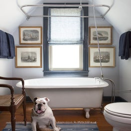 Austin Childs Bathroom with Nautical flair