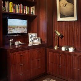 Madison Avenue Residence Built-In Desk