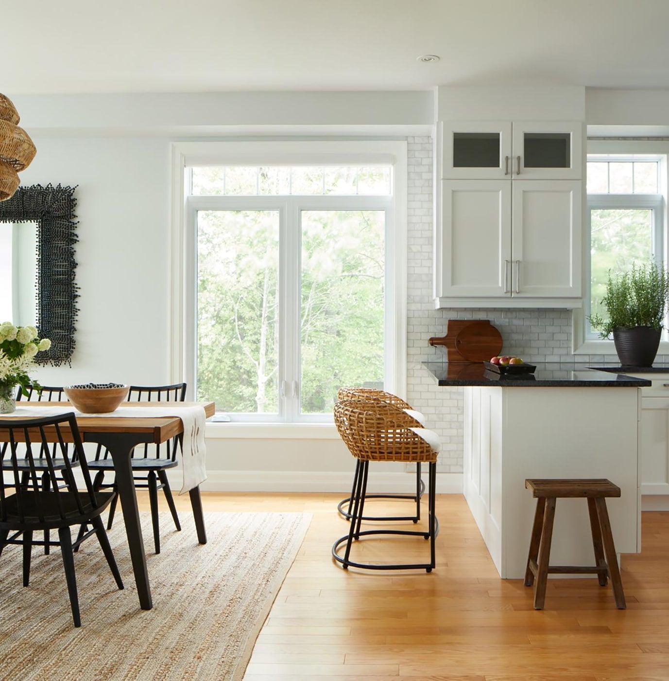 Kitchen and Dining Room, Stoney Lake Cottage, Toronto