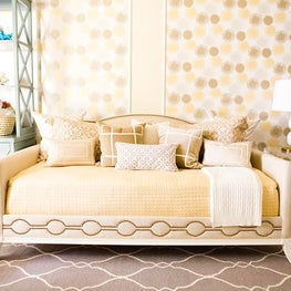 City Century Nursery design by Erinn V. Design Group.  Erinn V. Mischa Daybed.