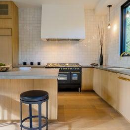 An Open, Warm, Family Kitchen
