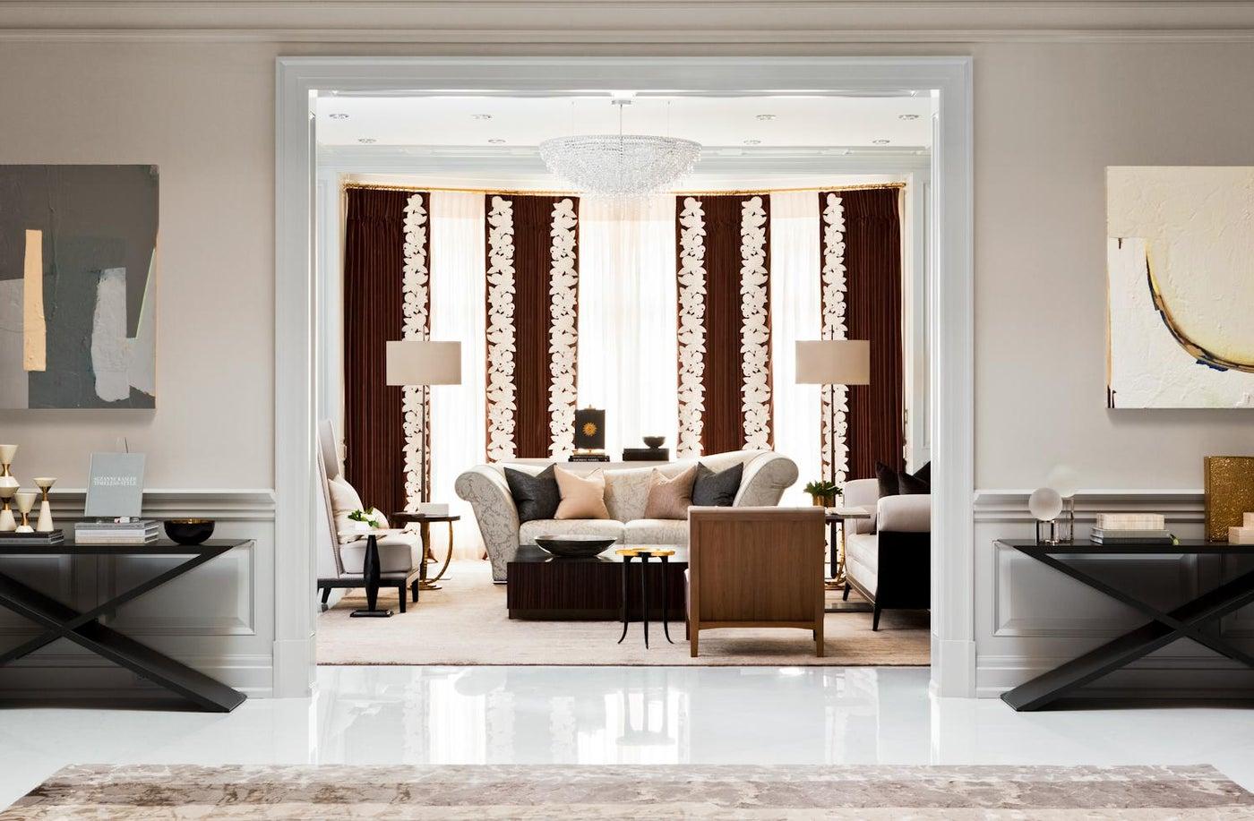 Grand Room designed by Elizabeth Metcalfe Interiors & Design Inc.