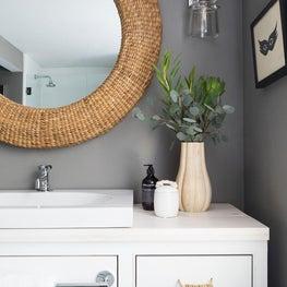 Master bathroom with Waterworks fixtures