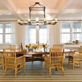 Nantucket Summer Home - Dining Room