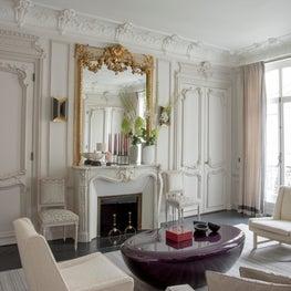 A Parisian living room