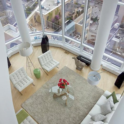 Chelsea Penthouse - Living Room