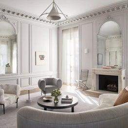 Chandler House Living Room