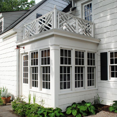 Historic Colonial Revival Home: Dining Porch