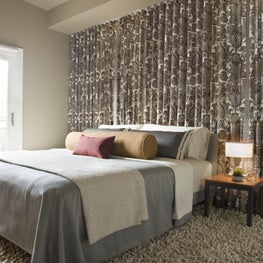 Bedroom in Logan Circle rowhouse