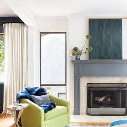Golden Gate Heights Residence: Living Room