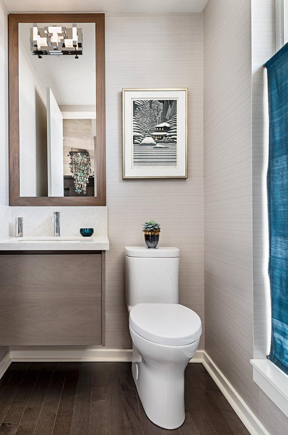 Toronto Penthouse, Powder Room