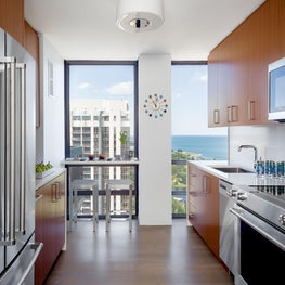 Gold Coast Residence View into Kitchen.