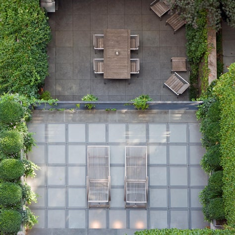 Upper East Side Townhouse, Patio