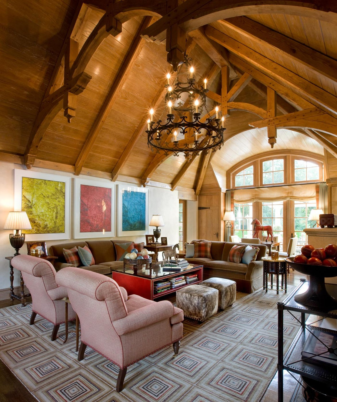 Country Estate Living Room