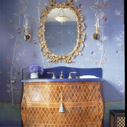 A clients Powder Room