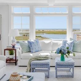 Moonbeam Sitting Room, Chatham, Cape Cod
