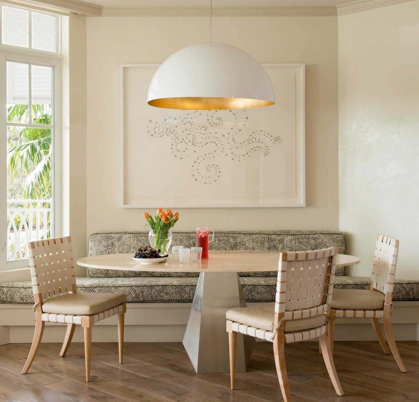 breakfast nook // Huntley & Co. Interior Design_Florida