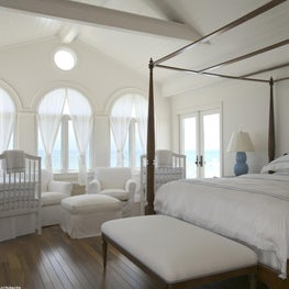 Private Island Retreat- White washed walls, teak floors & soft hues of Caribbean