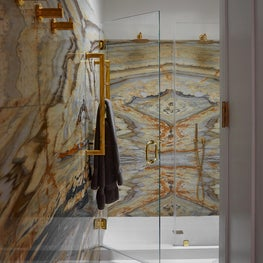 Matchbook Marble Bathroom