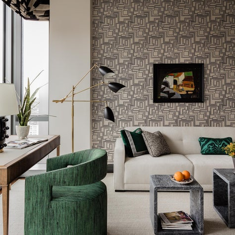 Chic High-Rise Home Office/Den